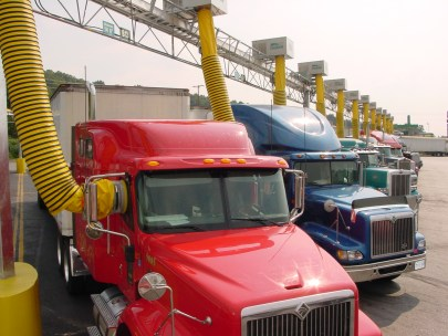 truck stop electrification project