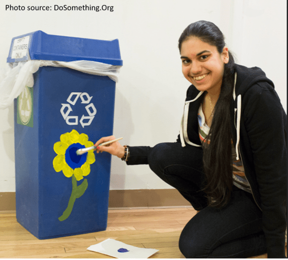 dosomething recycling photo