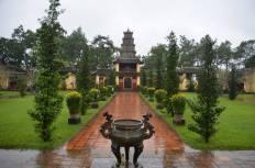 The pagoda in Hue