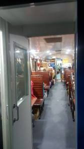 the diner on the train