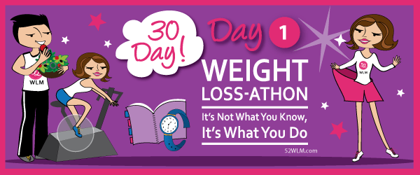 Day 1: Find Your Real (Not Pretend) Motivation | 30-Day Weight Loss-athon