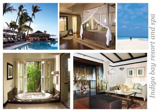 Resorts in Africa - Indigo bay resort and spa accommodation