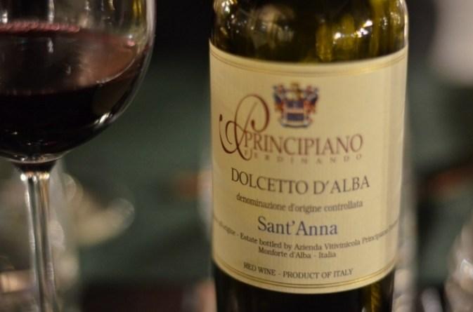 Dolcetto d Alba, vin, vin rouge, italie,Scannabue,restaurant turin