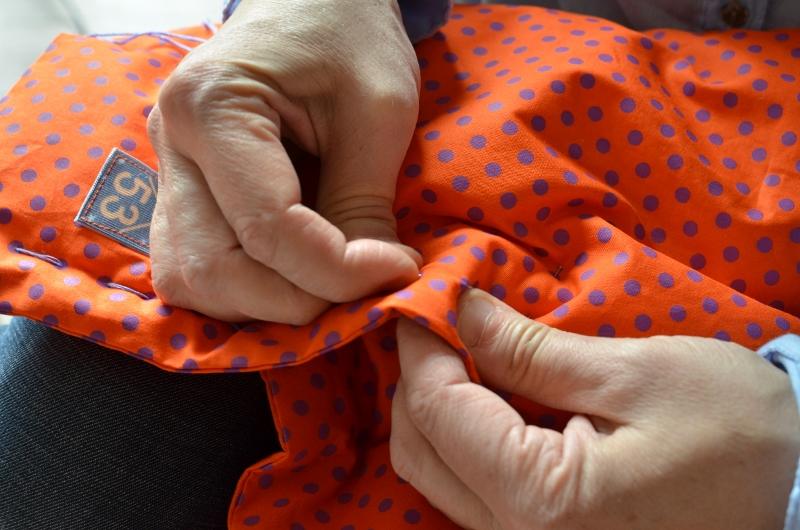La couture à la main