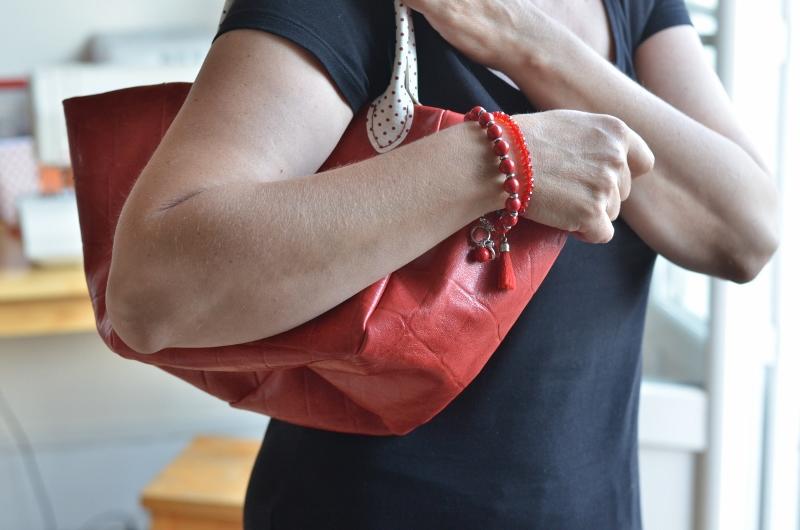 Parfait petit sac rouge