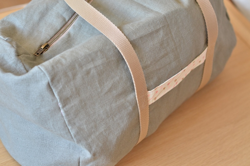 Mon sac de gym en lin