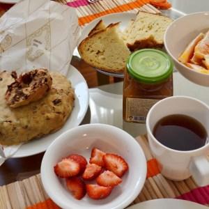 Petit déjeuner romain