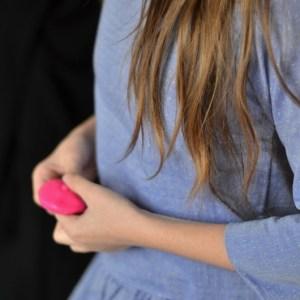 le buste de la robe en chambray