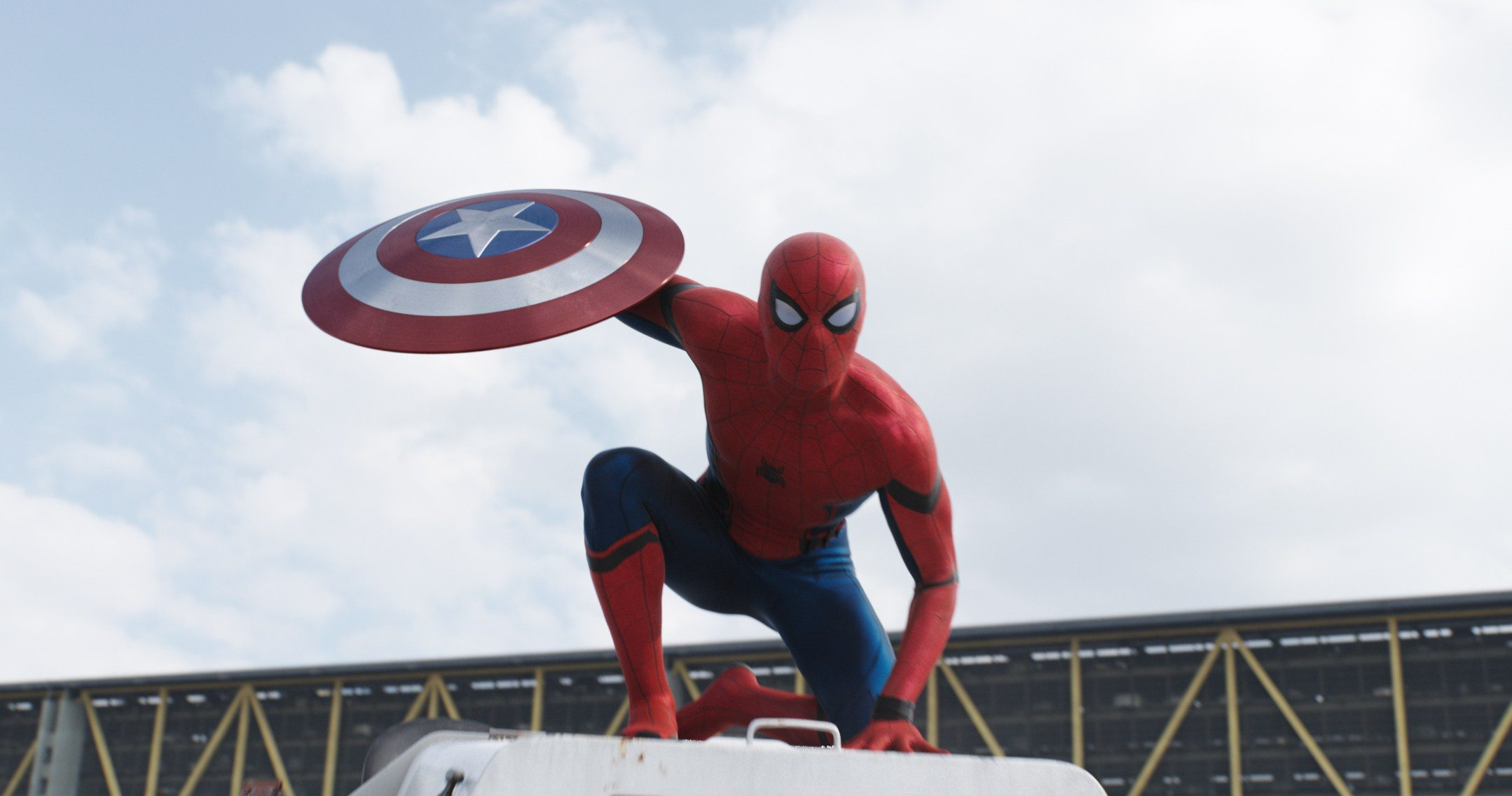 Spider-Man, Spider-Man, does whatever Toby McGuire or Andrew Garfield can... (Image Source: Marvel)