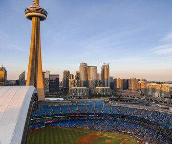 Blue Jays Game at the Rogers Center