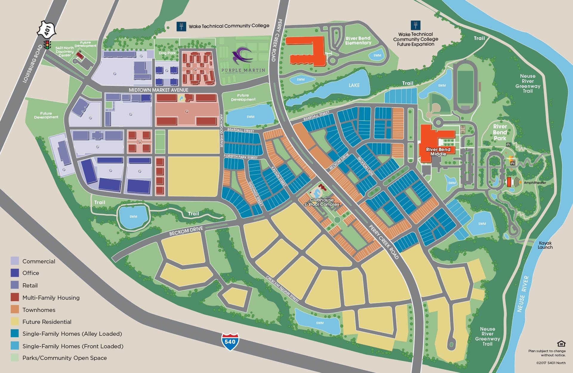 Wake Tech North Campus Map