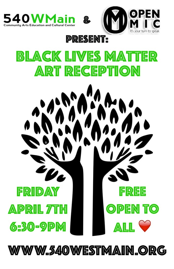 Updated BLM Art Reception