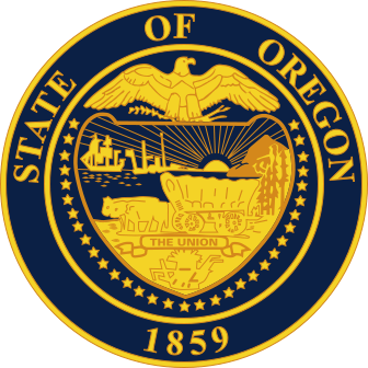 English: Great Seal of the State of Oregon Esp...