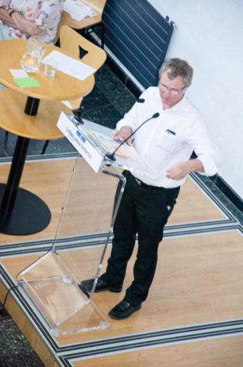 Christian Ariès présente l'axe consacré à la gestion équilibrée