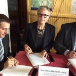 Signature de la convention interrégionale du Massif des Vosges - octobre 2015