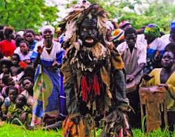The burial ceremony of the Chewa tribe.