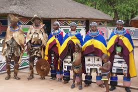 The wedding ceremony of the Ndebele people.