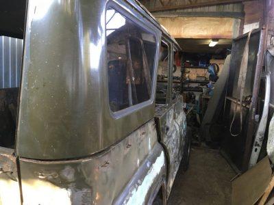 Уаз 469 ремонт кузова - Авто-ремонт