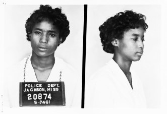 """From the """"Mississippi State Sovereignty Commission Records"""" Collection. Original photograph scanned as TIFF in 1994-95 by MDAH pursuant to ACLU v. Fordice, 969 F.Supp. 403 (S.D. Miss. 1994); original rescanned as TIFF in accordance with MDAH digital archival specifications for photographs, 2002. Credit: Courtesy of the Mississippi Department of Archives and History."""