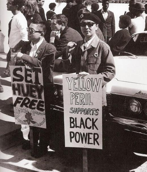 yellow-peril-Black-Power-sign