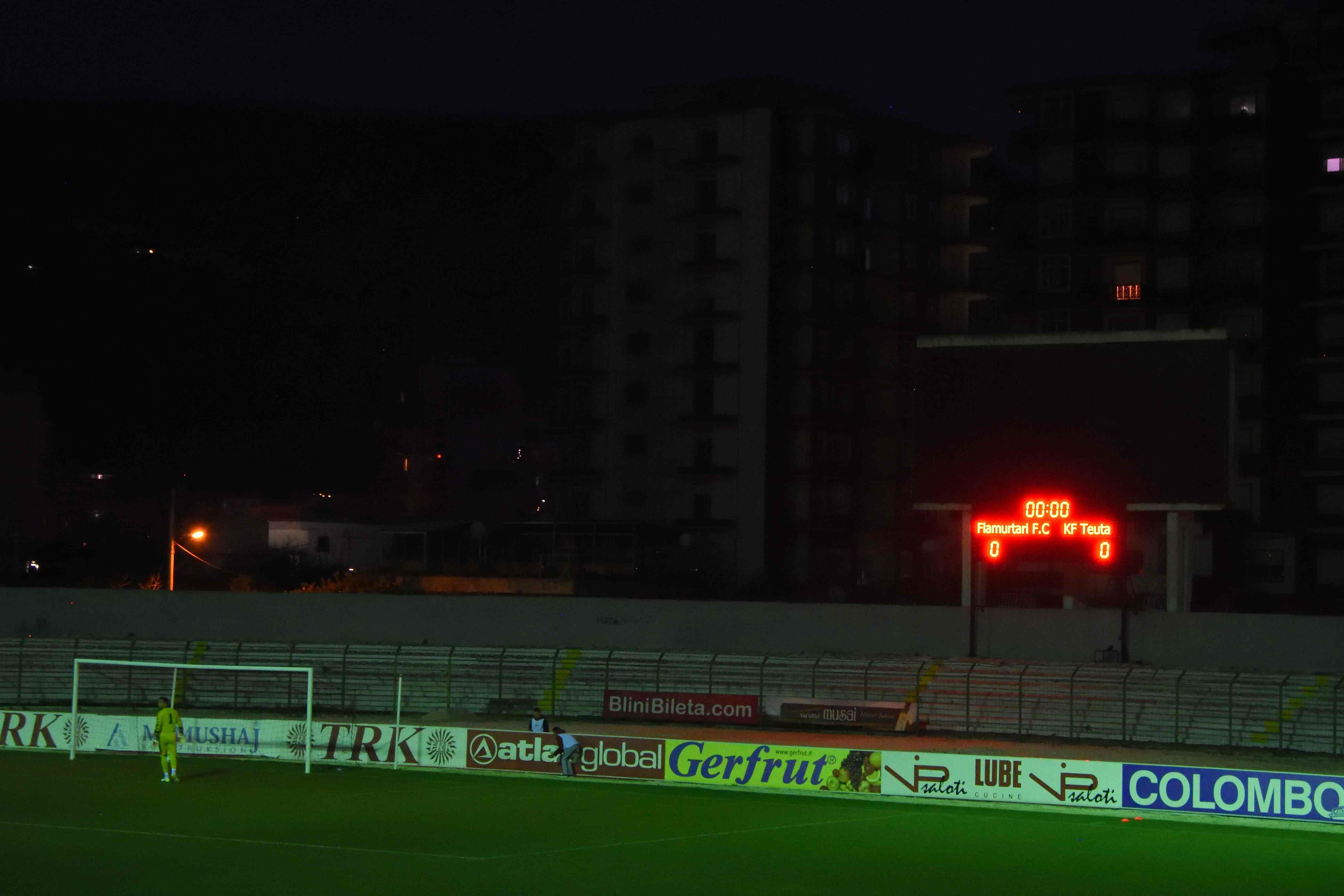Football Nation 28/55 - Albania - Flamurtari 0-0 Teuta Durrës