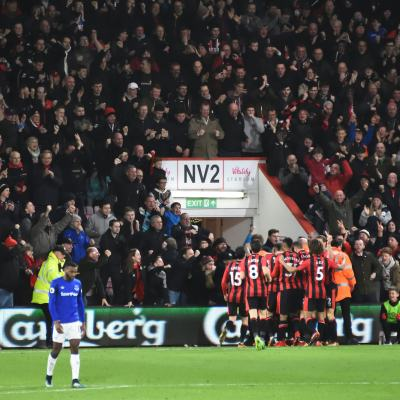 Football Nation 33/55 - England - Bournemouth 2-1 Everton