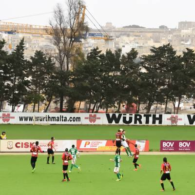 Football Nation 37/55 - Malta - Floriana 1-0 Hamrun Spartans