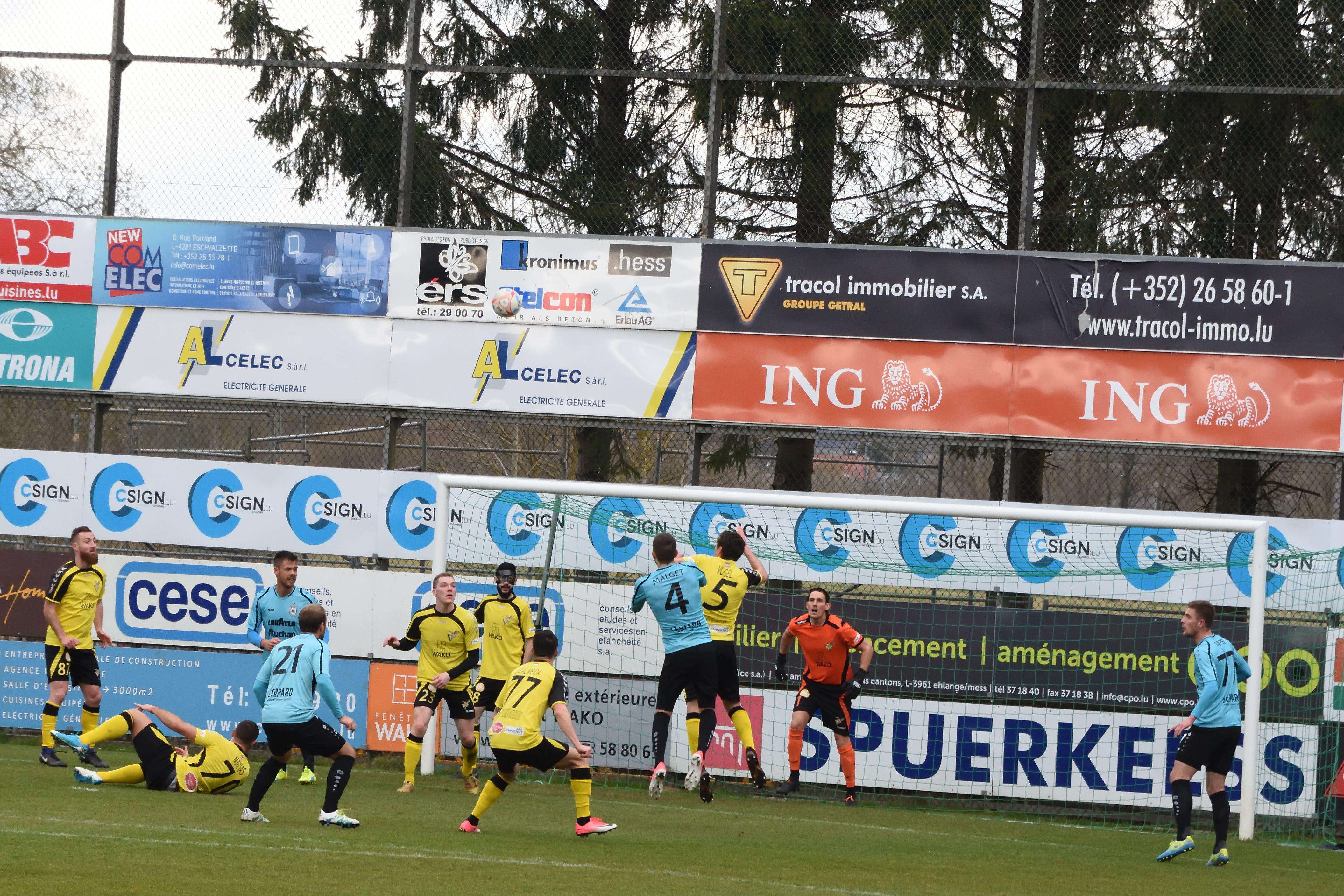 Football Nation 50/55 - Luxembourg - Progrès Niederkorn 1-3 F91 Dudelange