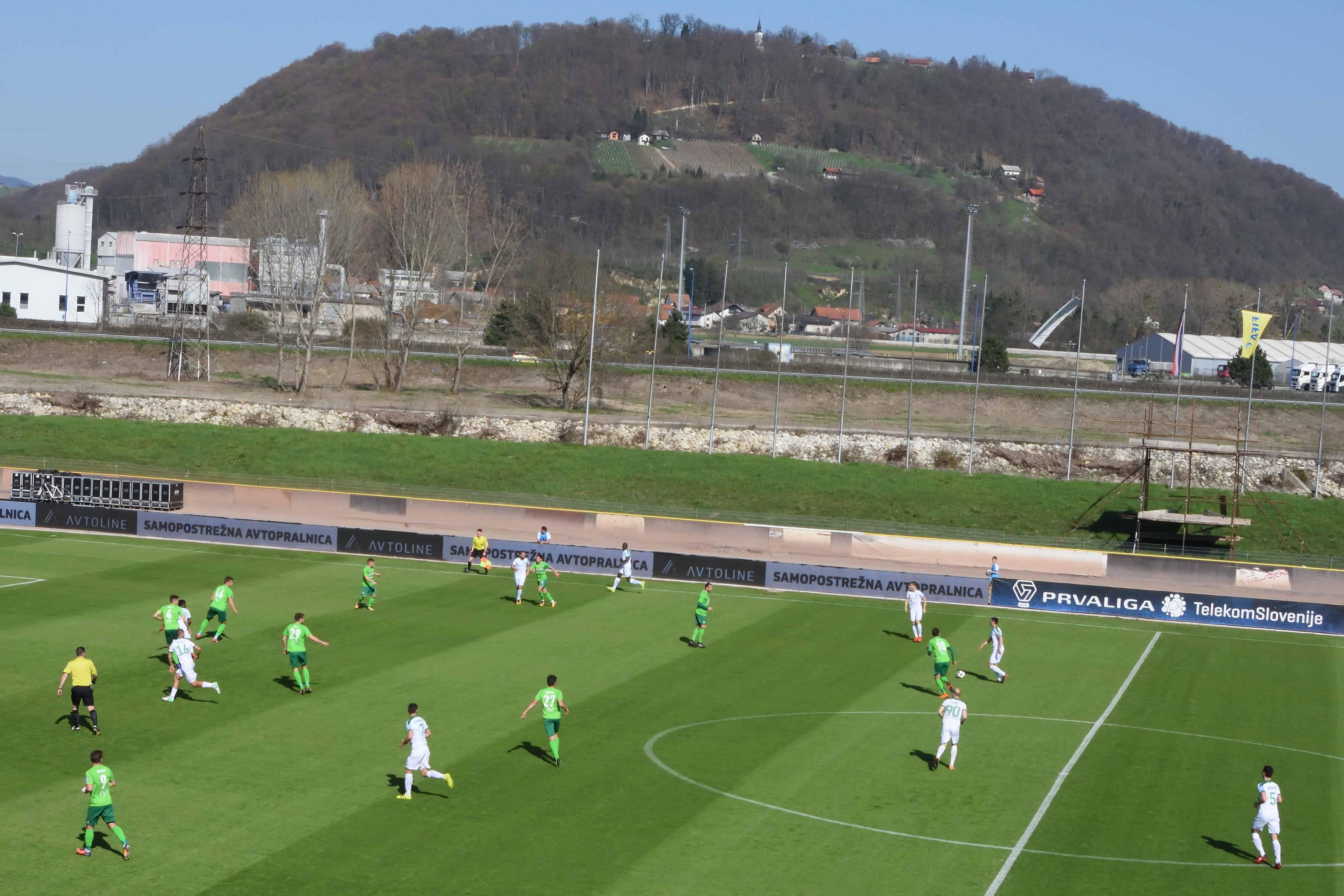 Football Nation 51/55 - Slovenia - Krško 0-1 Olimpija Ljubljana