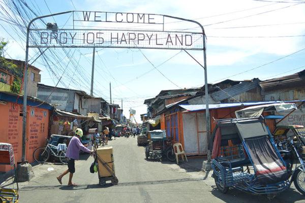 フィリピンのスラム街・ハッピーランド