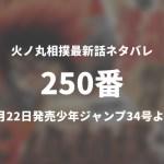 火ノ丸相撲250番(最終話)ネタバレ「鬼丸の戦いは続く」【今週の1分解説】