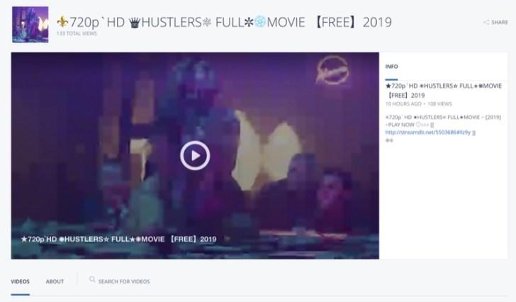 映画『ハスラーズ』を無料で視聴する方法を調べてみた