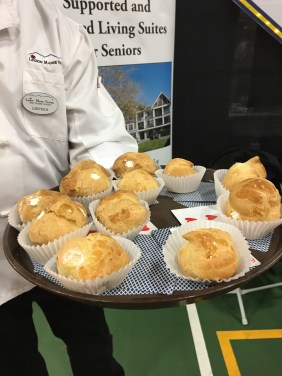 Delicious Cream Puffs served by Legion Manor