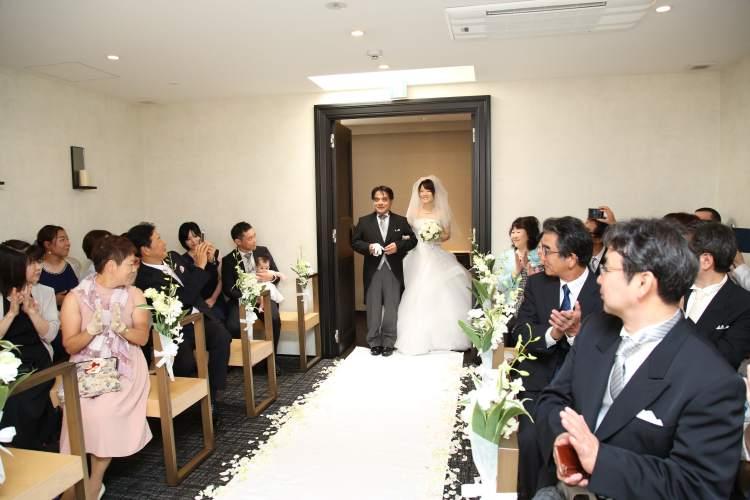 レストラン結婚写真