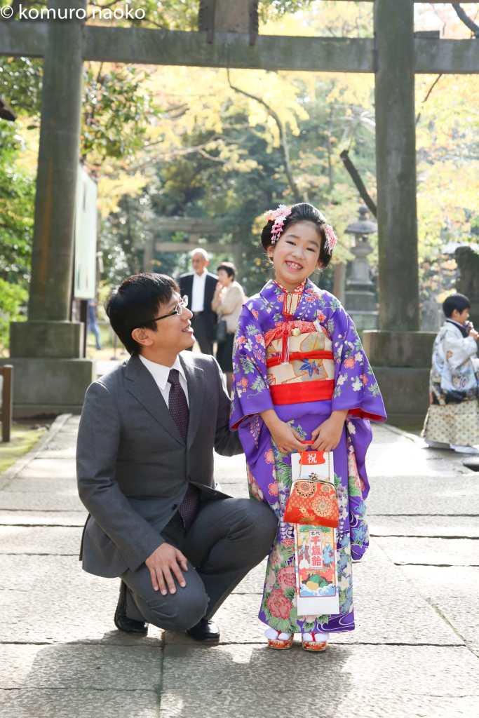赤坂神社7歳パパ