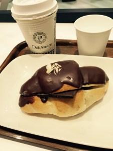 デリフランス錦糸町店のパンとコーヒー