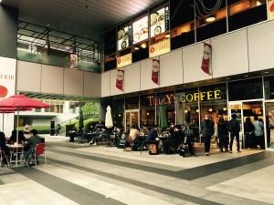 アキバの電源カフェタリーズコーヒー