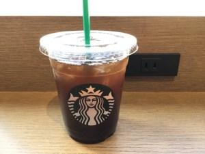 スターバックスコーヒーのアメリカーノのデカフェ