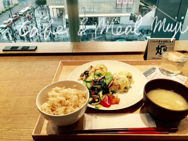 Cafe & Meal MUJI錦糸町パルコの電源席
