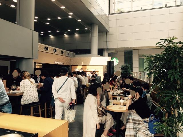 スターバックスコーヒーJR東海品川駅店の内観