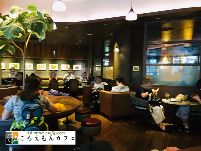 サンマルクカフェ両国西口店の内観