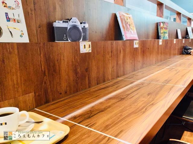 ドトールコーヒーショップアレア品川店の内観