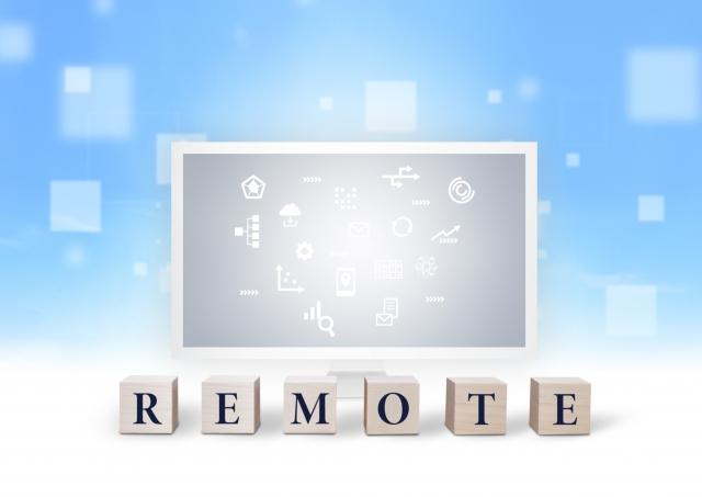 リモートワークのイメージ