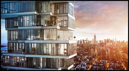 56 Leonard Is Set To Be Tribeca S Tallest New Inium But It Also Recaptures A Sense Of Childlike Wonder If You Remember Playing With Jenga Blocks