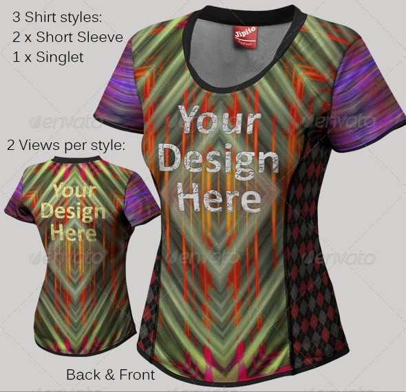 Download 33+ Womens Volleyball Jersey Mockup Front View Pictures ...