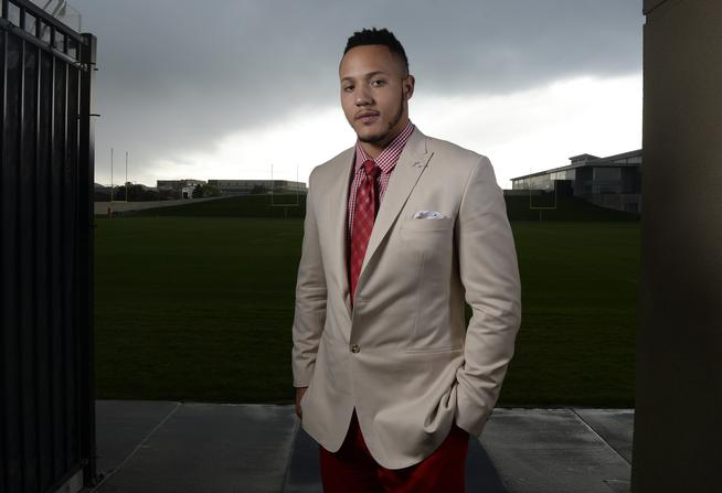 CENTENNIAL, CO - MAY 01: Denver Broncos first round draft pick Shane Ray at Dove Valley May 01, 2015. (Photo by Andy Cross/The Denver Post)