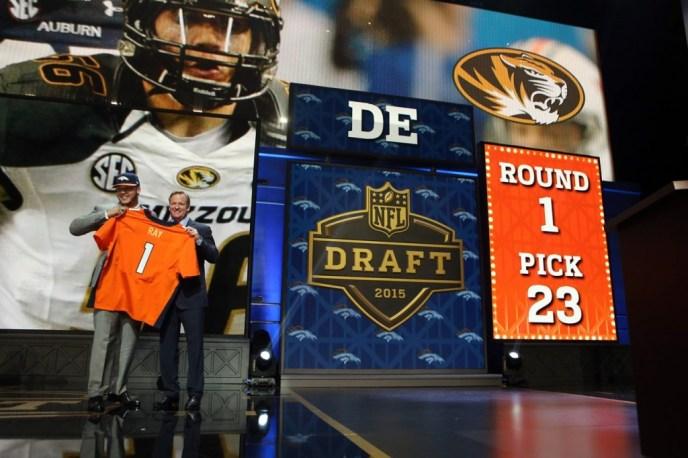 #56 Shane Ray, Denver Broncos Draft Day Pick