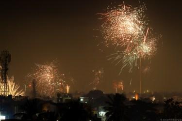 Fireworks all around