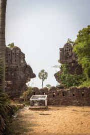 Entrance to the Fort ruins