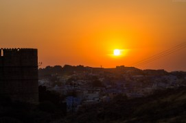 Sunset - Meharangarh Fort, Jodhpur